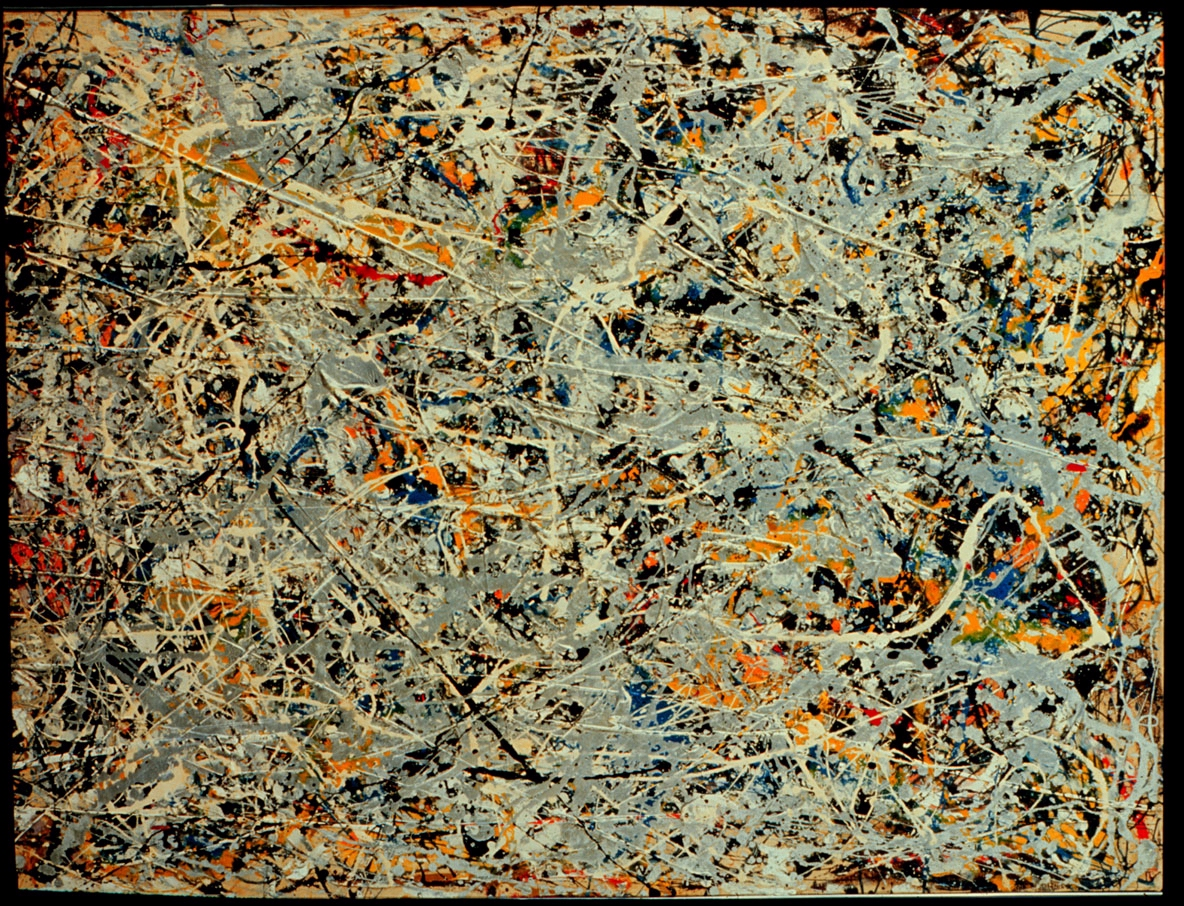 301 moved permanently for Mural jackson pollock